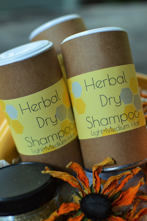 Herbal Dry Shampoo Light Hair