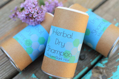 Herbal Dry Shampoo Dark Hair