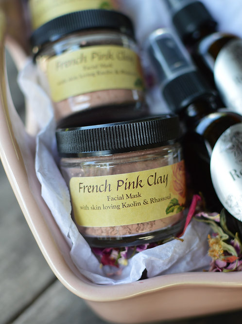 French Pink Clay (Dry Skin)