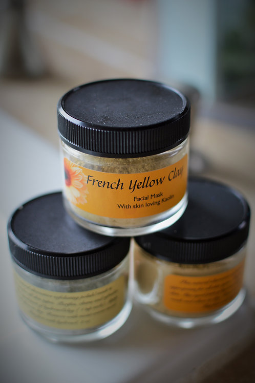 French Yellow Clay Face Mask (Combination Skin)