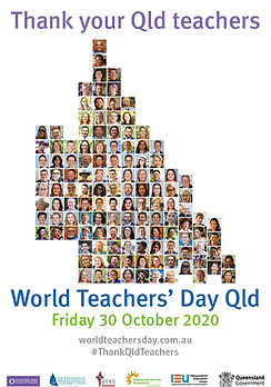 World Teachers' Day_A4 Poster_White Map
