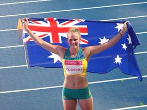 Taryn Gollshewsky: Going for gold