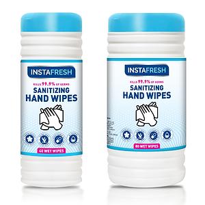 Instafresh Sanitizing Hand  Wipes