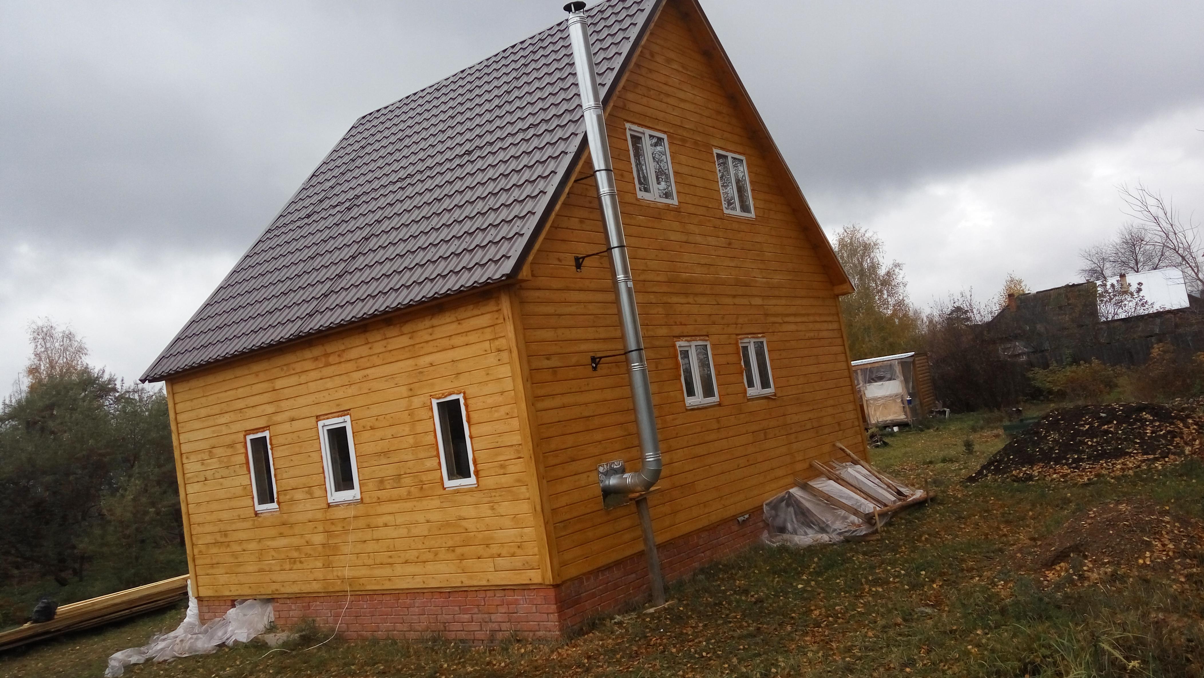 Дачный дом в Суслонгере