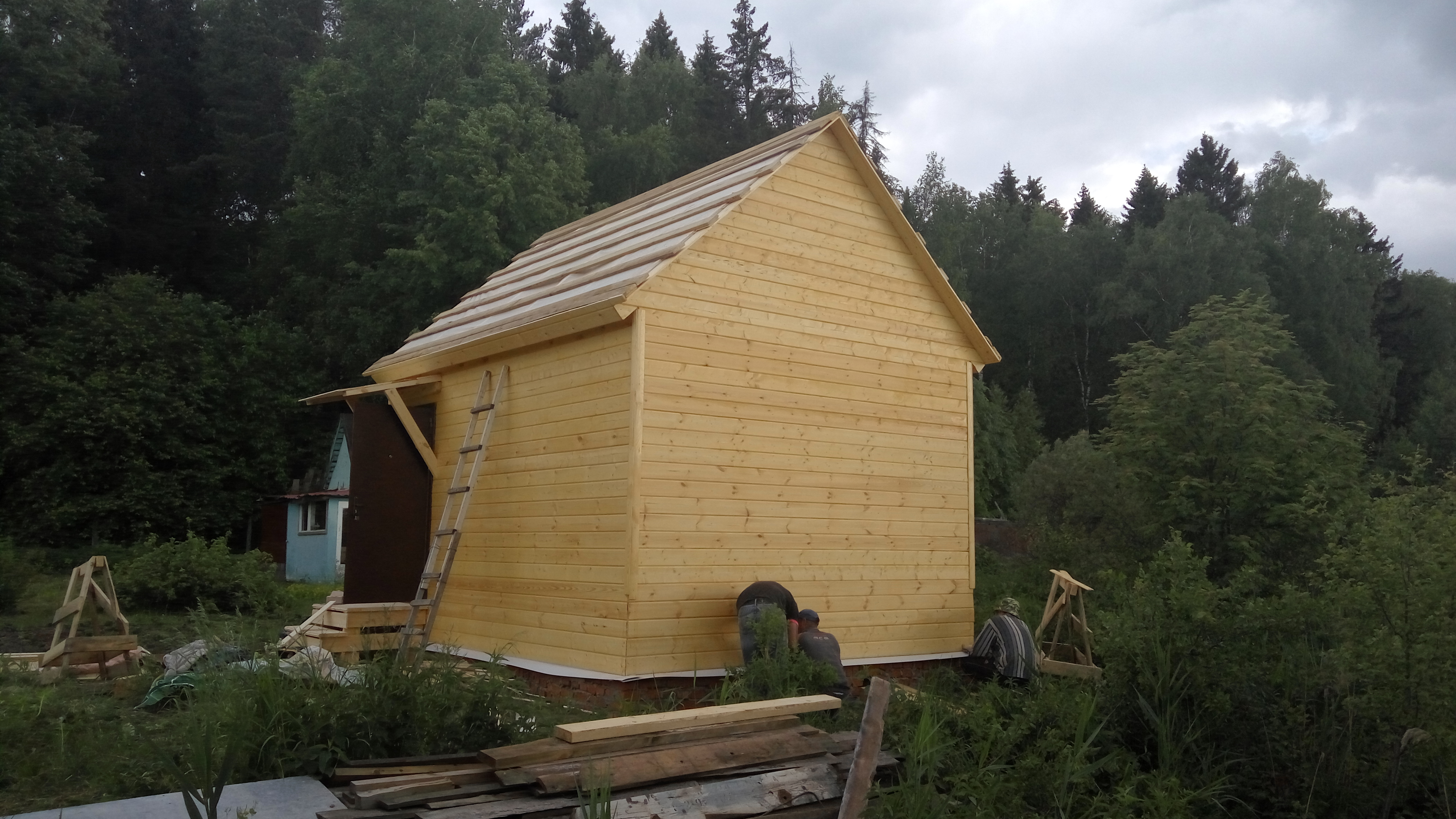 Садовый дом 4х6 Подборное