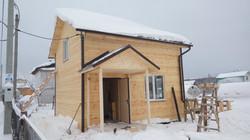 Каркасный дом 6х6 СНТ Милосердие