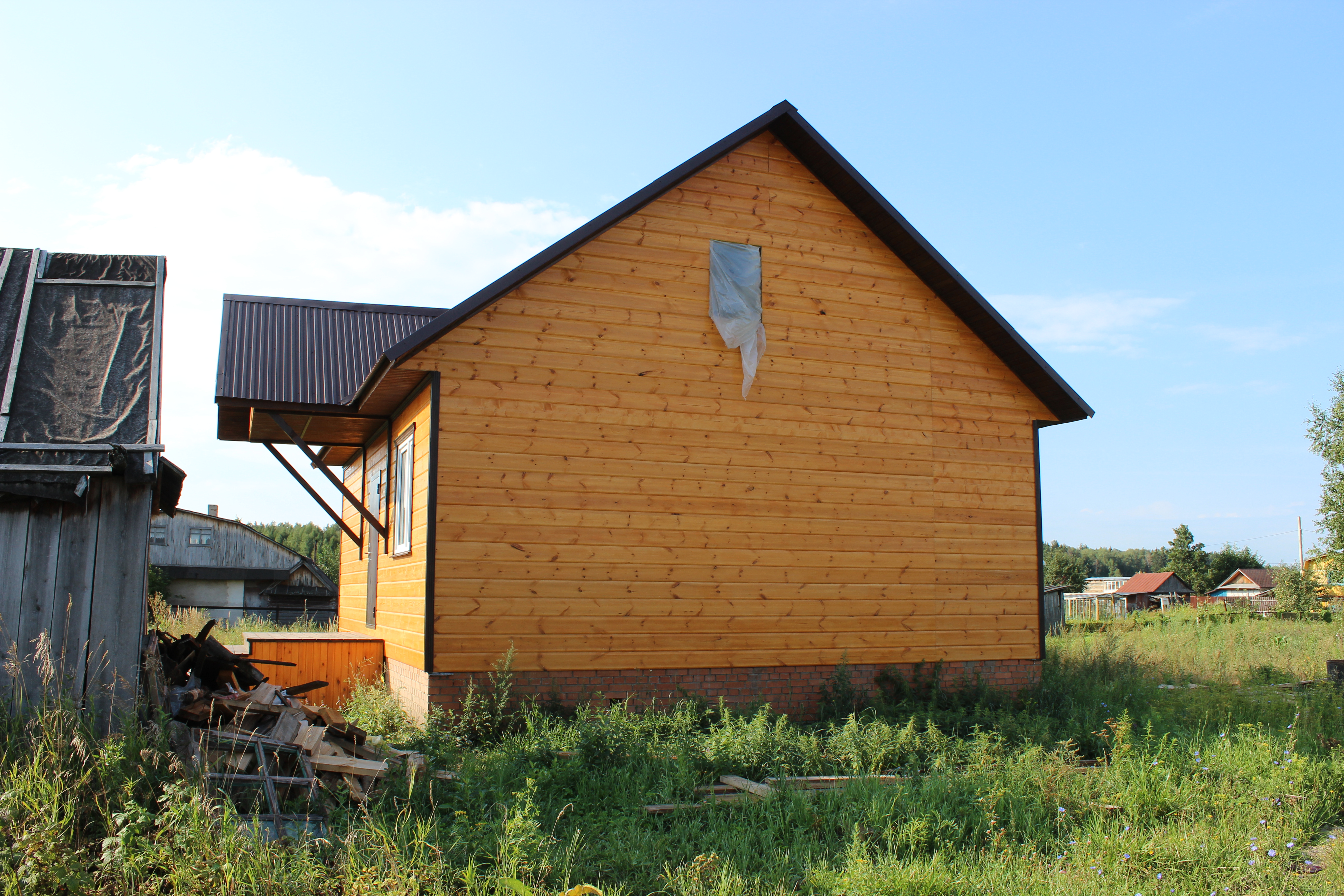 Каркасный дом СНТ МАЛИНОВКА