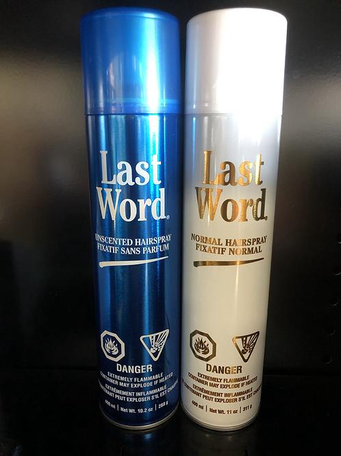 Last Word Hairspray