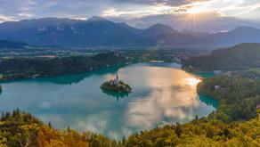 Hike at Lake Bled
