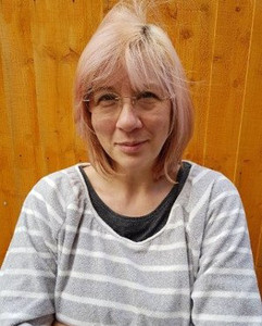 Donna volunteer at Birmingham cat rescue