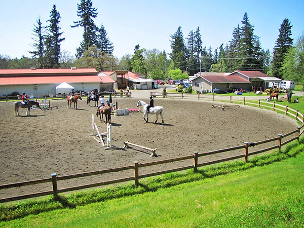 Signature West Farm outdoor arena