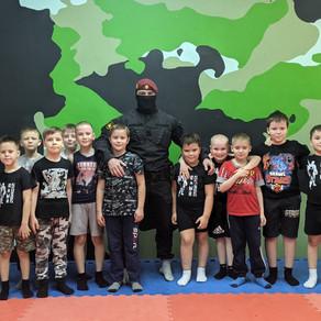 Мастер-класс для юных спецназовцев