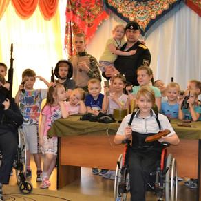 26.02 Встреча с детьми реабилитационного центра