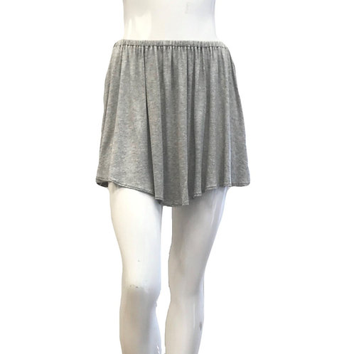 Gathered Flounce Mini Skirt