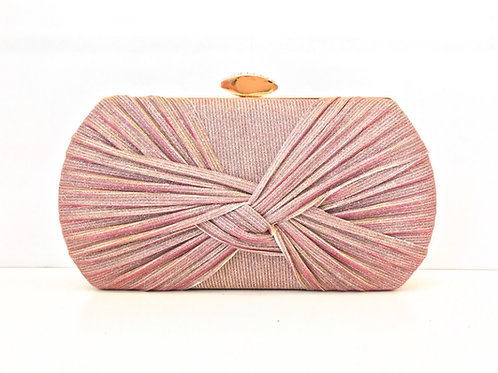 Pink Iridescent Clutch