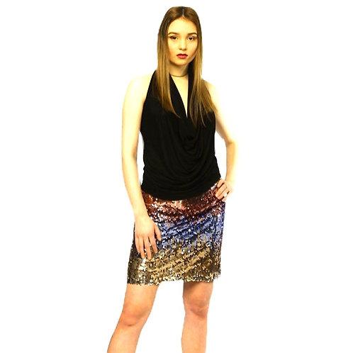 Ombré Sequin Skirt