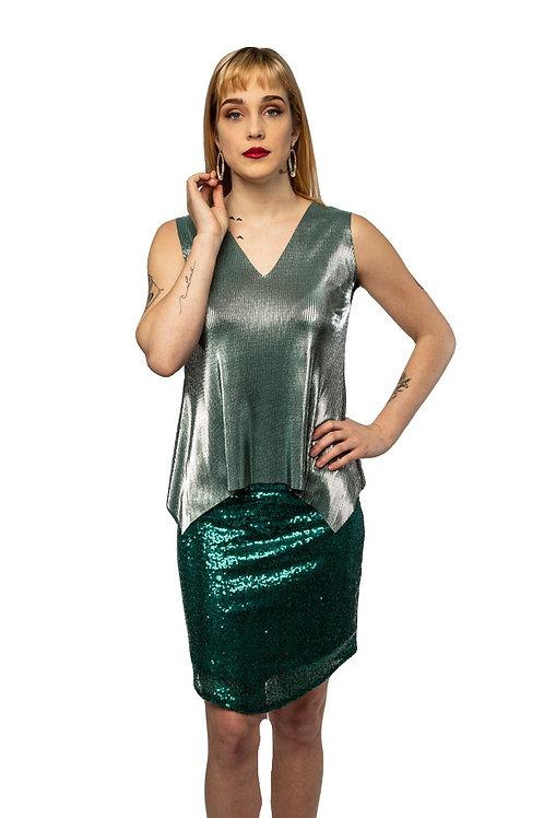Jade Sequin Skirt