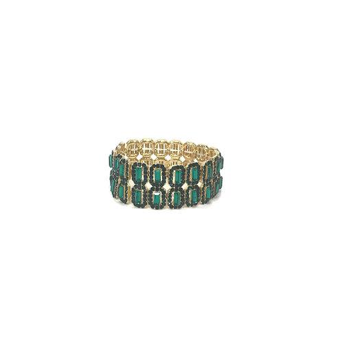 Green Gem Bracelet