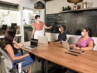 Coworkings são opção para profissionais em busca de melhores condições em tempos de trabalho híbrido