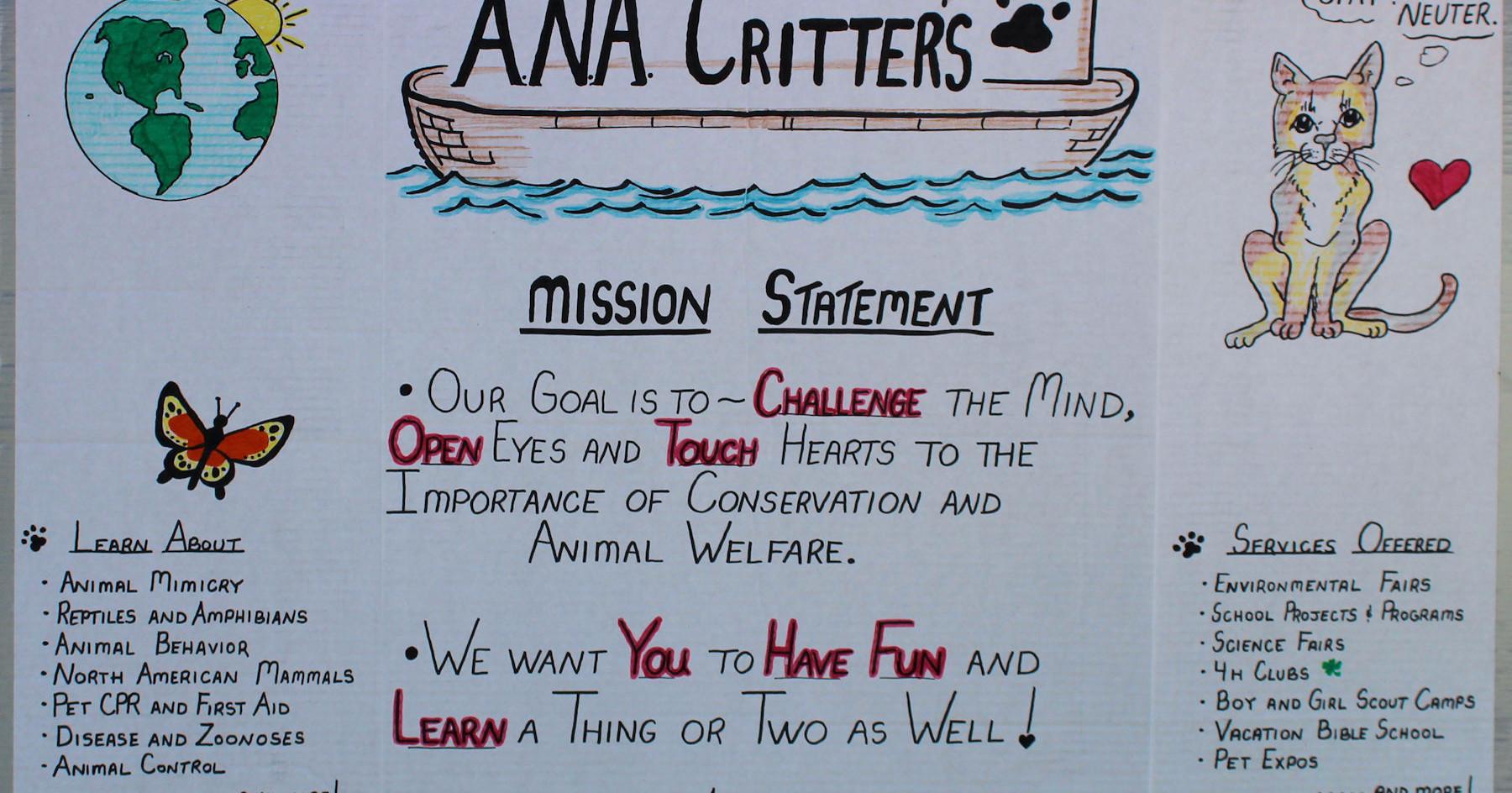 ANA CRITTERS