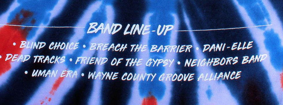 BAND LINE-UP