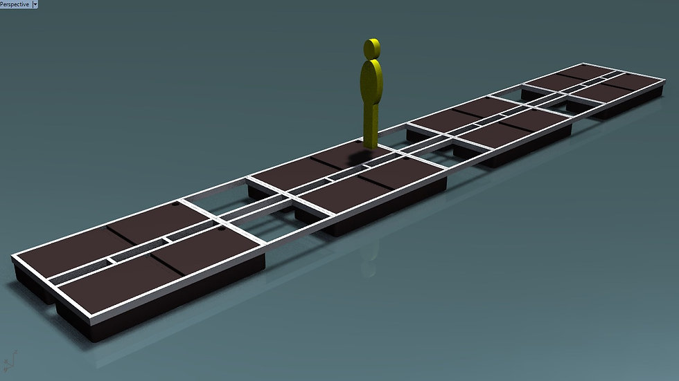 2 x 13.48m Jointed Pontoon Kit