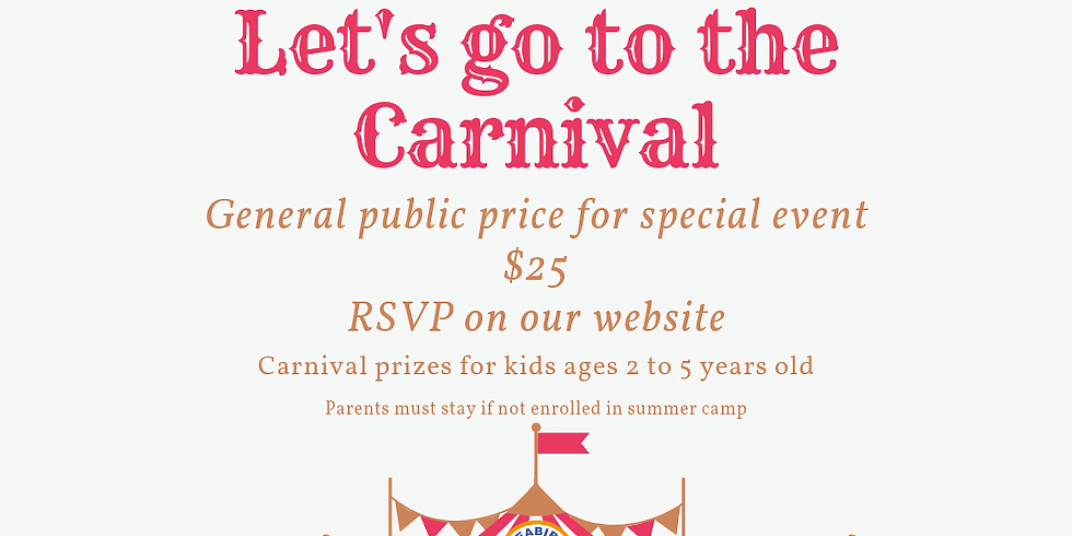 Let's go to the Carnival