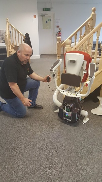 KL Stairlifts Showroom 1