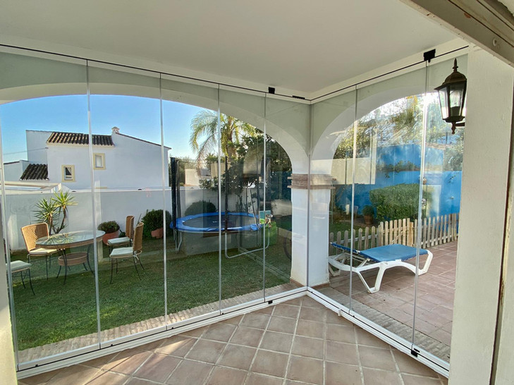 Terrace Glass Curtains