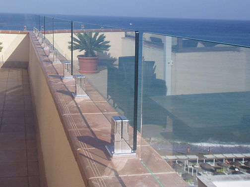 premier glass curtains,glass balustrades fuengirola spain ,costa del sol