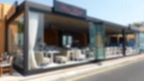 glass curtains comercial premises