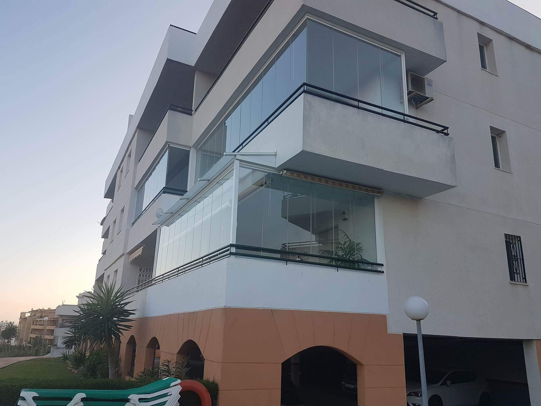 Apartment Glass Curtains