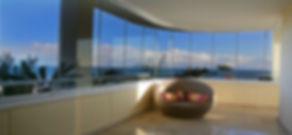 glass curtains calahonda