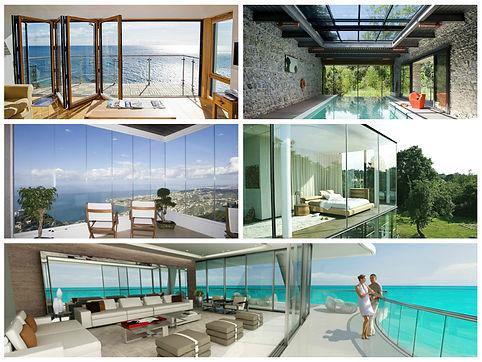 bi fold doors glass glass roof marbella