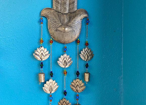 hamsa wall hanging or chime