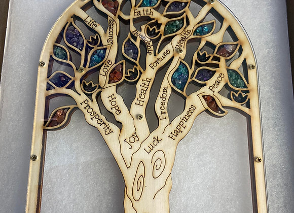 handcrafted and blessed in holy land rooted in spirit olive wood &  stones