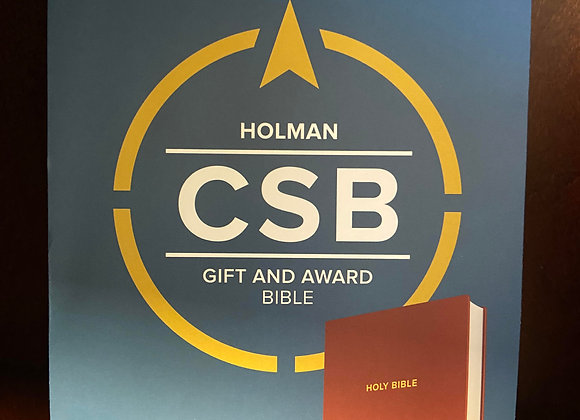 CSB GIFT AND AWARD BIBLE