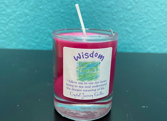 SOY WISDOM CANDLE