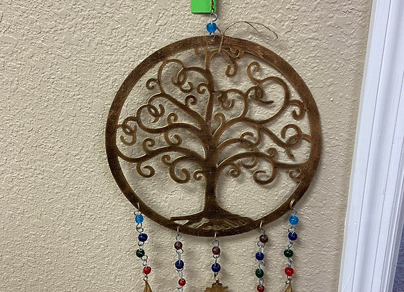 Tree of Life Windchime  Wall Decor