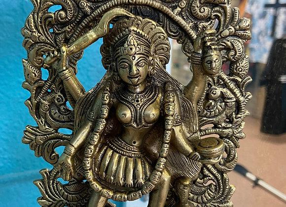 Tara brass solid statue