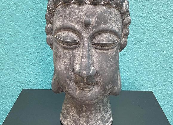 CERAMIC BUDHA HEAD