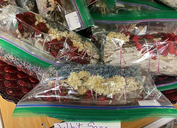 California White Sage Smudge Kit Bundle