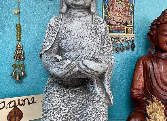 KNEELING BUDDHA INDOOR OR OUTDOOR