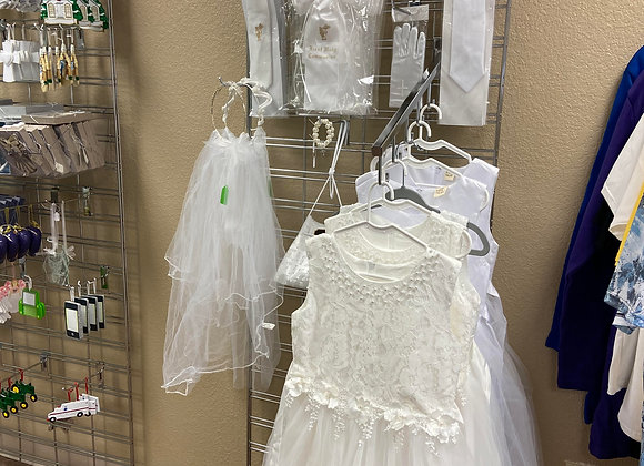 FIRST COMMUNION DRESSES AND ACCESSORIES
