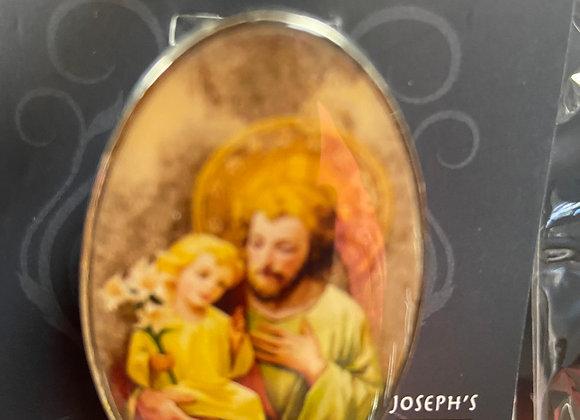 VISOR CLIPS ST JOSEPH