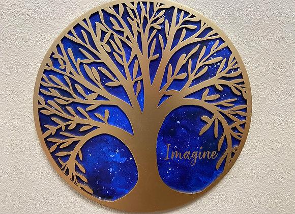 IMAGINE - TREE OF LIFE WALL DECOR