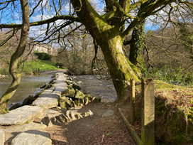 Visiting Tarr Steps - Days out on Exmoor