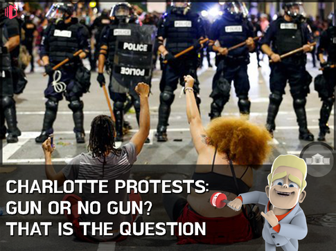 W.T.F(WonderfullyTactless&Forward) bake on the Charlotte Protests