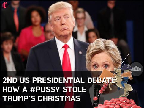 W.T.F(WonderfullyTactless&Forward) bake on the 2ND US Presidential Debate