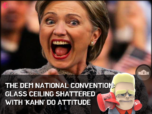 W.T.F(WonderfullyTactless&Forward) bake on the Democratic National Convention